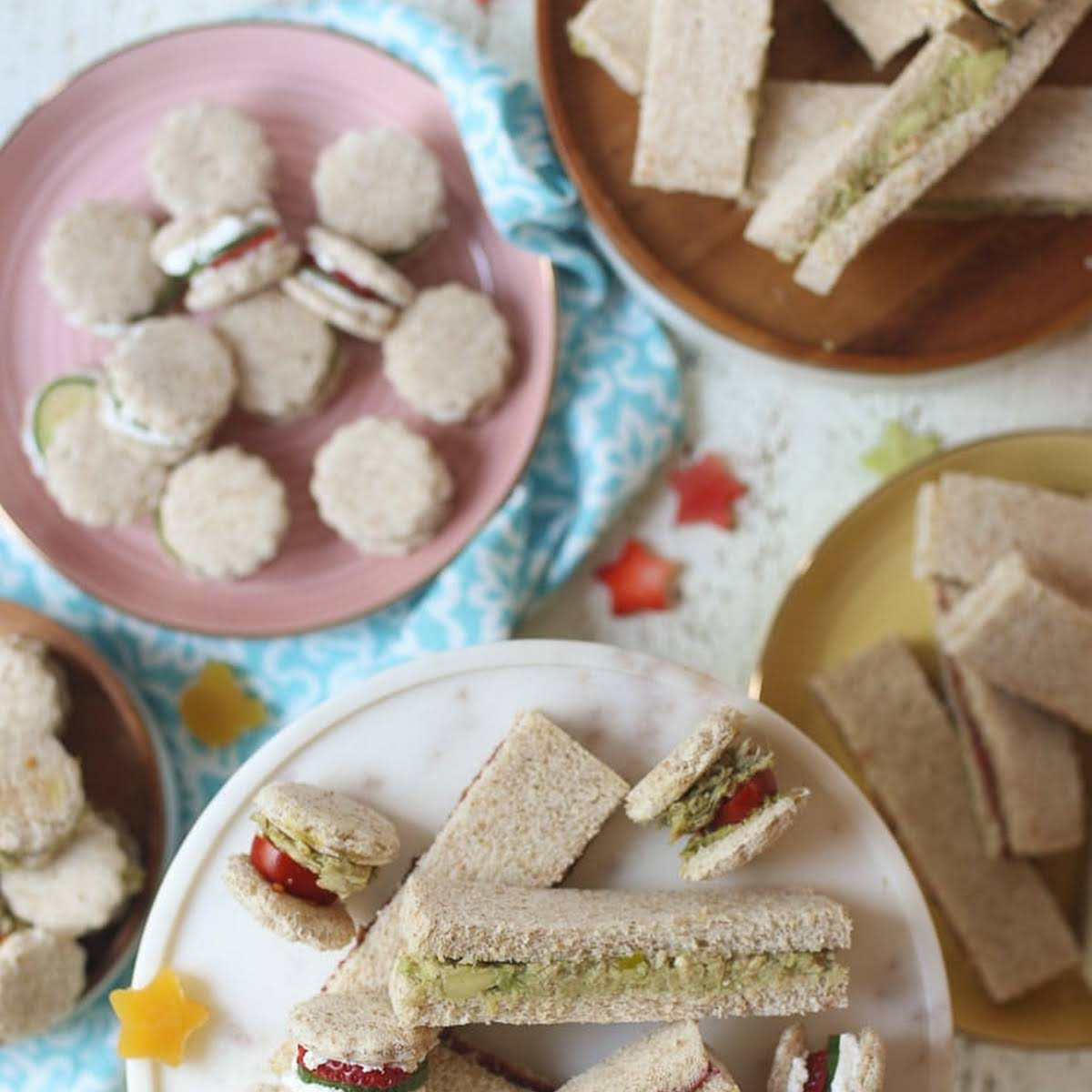 4 Healthy Toddler Finger Sandwiches for Baby Led Weaning (BLW)