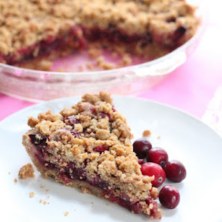 Unconventional Cranberry Pie