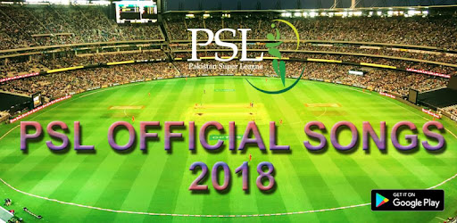 PSL 2018 Official Songs Offline for PC