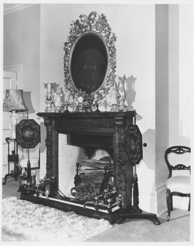 Mantel in Sitting Room, 'High Peak', Neika