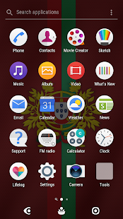 2018 World Cup Portugal Theme for XPERIA- screenshot thumbnail
