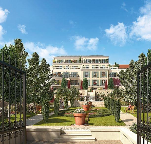Les Jardins Du Prieure Programme Immobilier Neuf Maisons Laffitte Franco Suisse Batiment