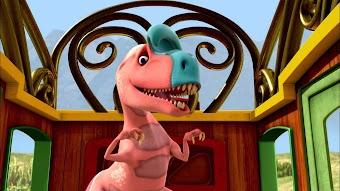 King Cryolophosaurus/Buddy the Tracker