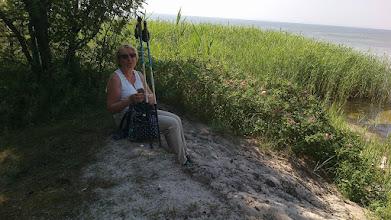 Photo: Pierwszy popas nad Zatoką Pucką.
