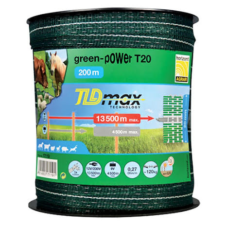 Elband Horizont Green-Power T20 200 Meter. 0,27 Ohm/m