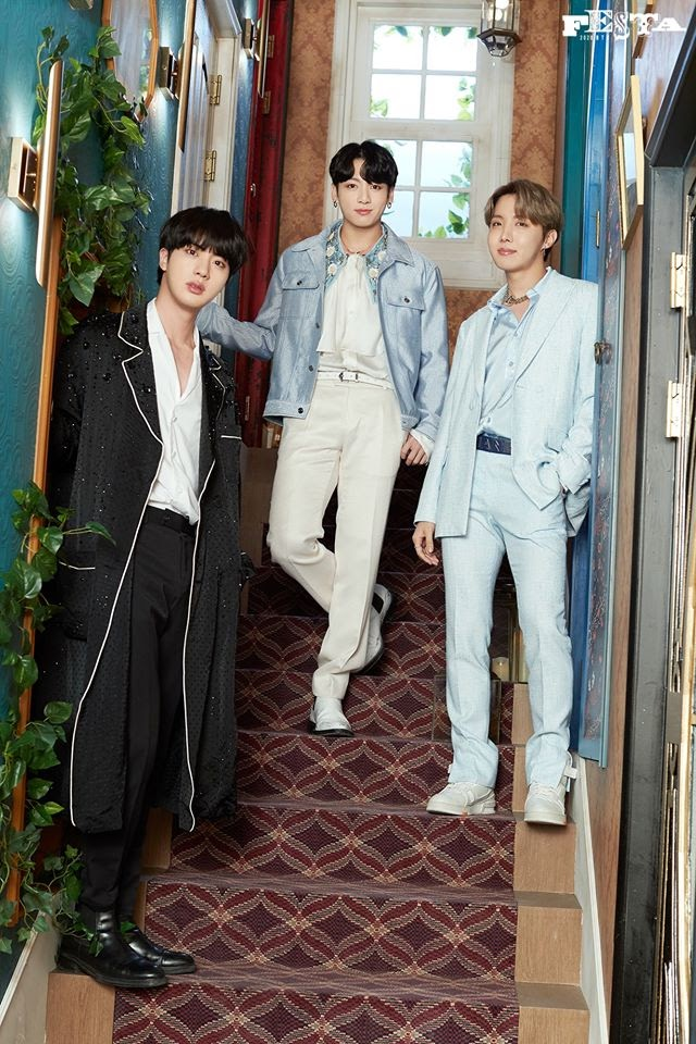 BTS Unit Photos 2020 Festa of Jhope, Jin and Jungkook