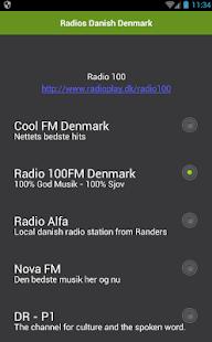 Radios Danish Denmark - náhled
