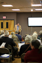 Photo: Dr. Alexander Lushnycky, speaker on the Ukrainian-American psyche in the coal mining region of Pennsylvania