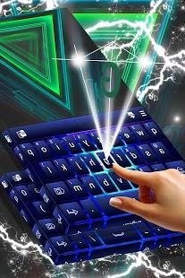 Free 2017 Green Keyboard Theme - náhled
