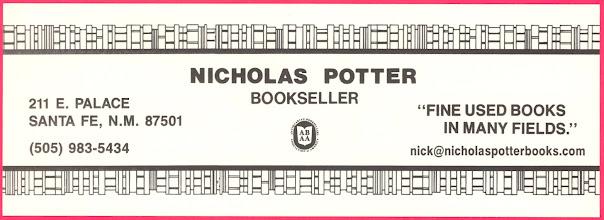 Photo: Nicholas Potter Books