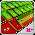 Keyboard Plus Rasta HD icon