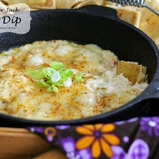 Hot Pepper Jack Crab Dip