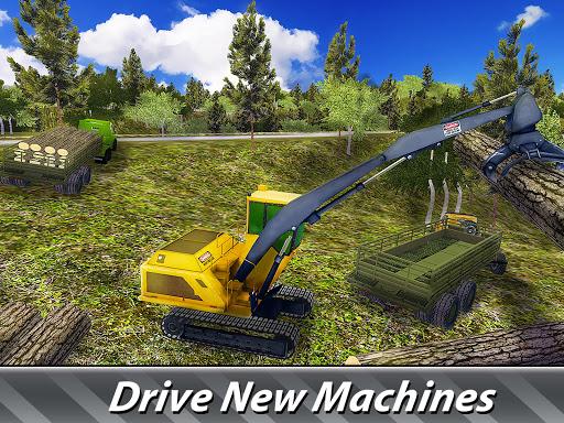 Logging Harvester Truck 1.4 screenshots 6