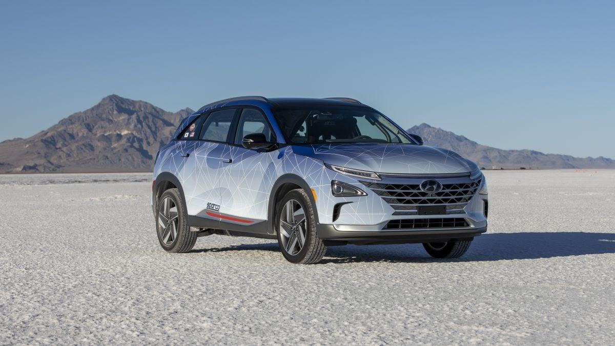 NEXO Fuel Cell SUV Concept