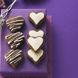 Valentine Chocolate Biscuits
