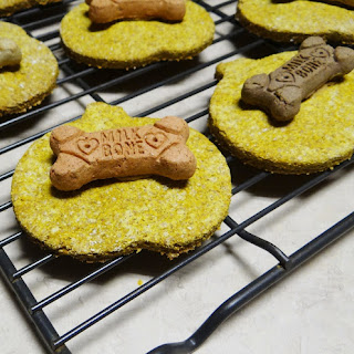 Halloween Pumpkin Peanut Butter Dog Treats