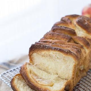 Apple Pie Cream Cheese Bread.