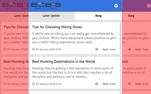 Bobsop - Update Lates News