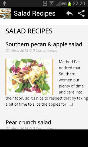 Rich Recipes Salads