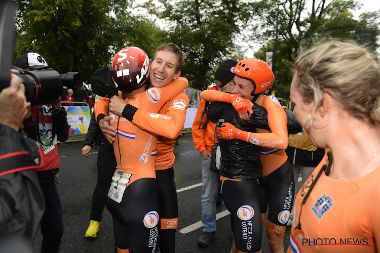 "Mollema na gouden medaille: ""Gelukkig bleven we recht"""