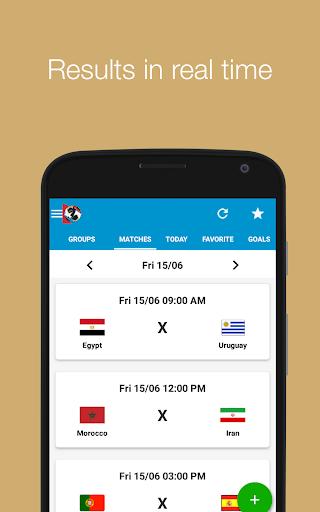 World Cup 2018 screenshot