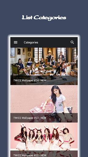TWICE Wallpapers KPOP Ultra HD 1.0.7 screenshots 2