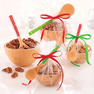 Spiced Caramel Nuts