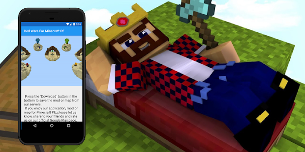 Bed Wars Karte Für Minecraft PE Karten Für Mcpe Apps Bei Google Play - Minecraft pocket edition online spielen deutsch
