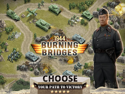 1944 Burning Bridges- screenshot thumbnail