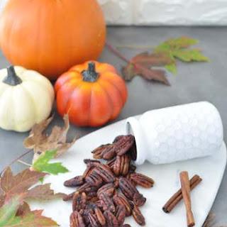 Pumpkin Spice Roasted Pecans Recipe