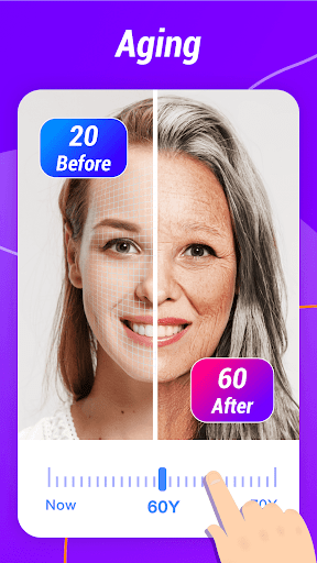 Old Face & Daily Horoscope -Face Aging & Palm Scan - screenshot