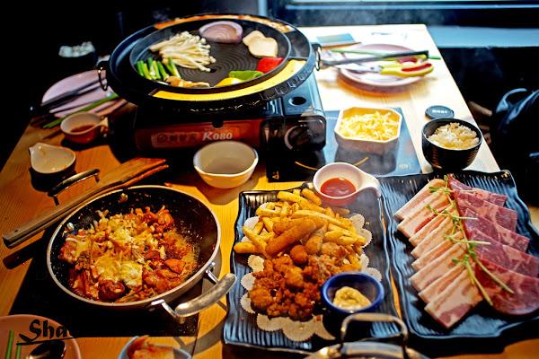 食記 台北公館【首爾之星】韓式餐廳。超有創意的列車設計風格彷彿置身國外。半自助式用餐絕對吃到飽