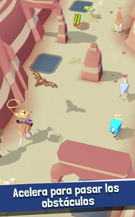 Rodeo Stampede: Sky Zoo Safari: captura de pantalla