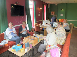 Photo: 004 The craft corner was well established in the second room being used for the day by the time I found them hard at whatever it is the ladies do with all those bits and pieces and I managed this quick snap before I was chased away .