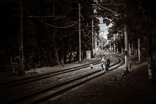 Where am i ? by Said Rizky - Travel Locations Railway