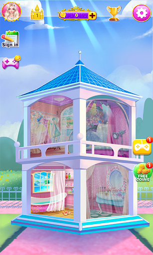 Princess Salon - Makeup Home - screenshot