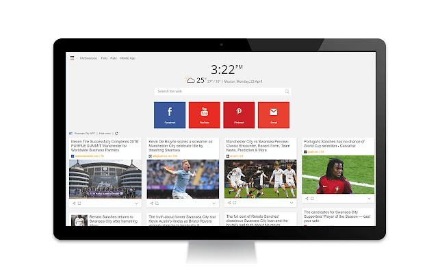 Swansea City AFC News Tab