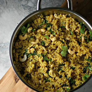 Curried Rice And Cashews