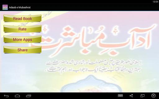 Aadab e Mubashrat