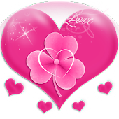 Theme Love Pink GO Launcher EX