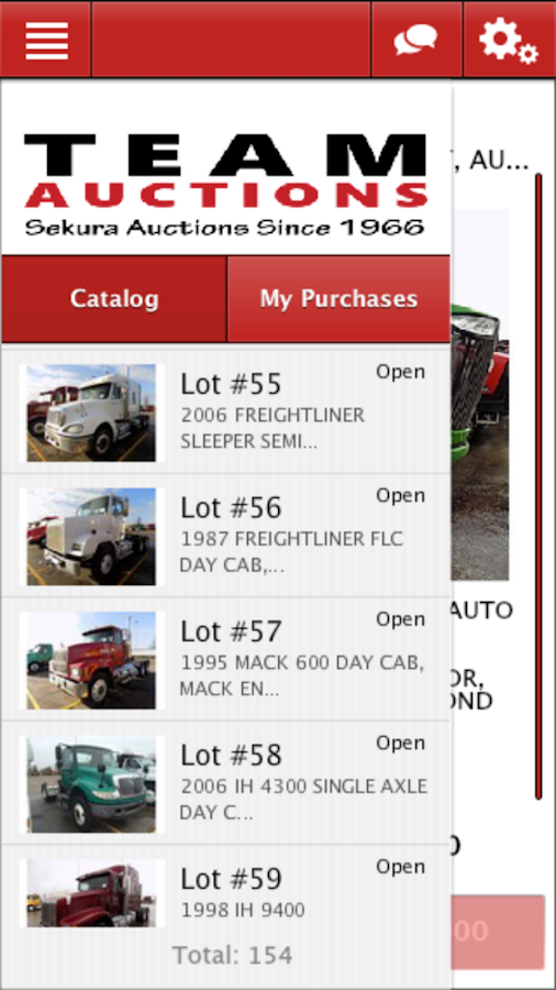 Team Sekura Auctions Live- screenshot