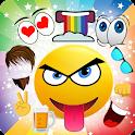 Creator of emojis emoticons icon