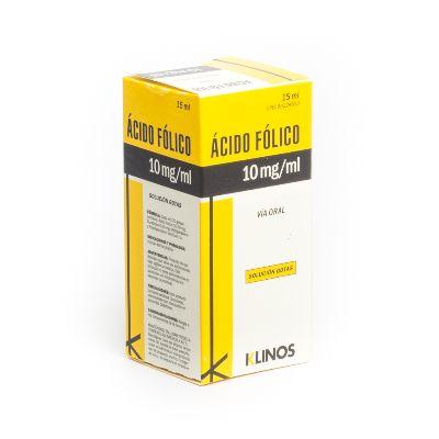 Acido Fólico Klinos Gotas x 15 ml ACIDO FOLICO KLINOS GOTAS X 15 ML