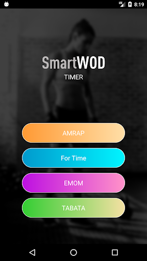 SmartWOD Timer - WOD timer for HIIT workouts screenshot 1