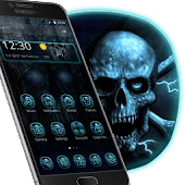 Night Sky Skulls Theme