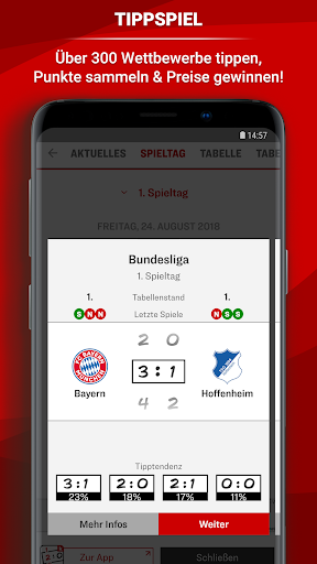 kicker Fuu00dfball News 5.7.0 screenshots 8