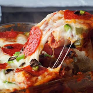 Pizza Tortellini Bake.