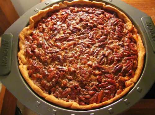 "Chocolate Kahlua Pecan Pie ""OH my goodness!! What a delicious pie! I..."