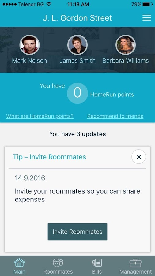 HomeRun renting is simple- screenshot