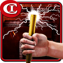 Fire Electric Pen 3D icon